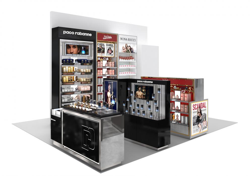 Diseño 3D, renders e infografías para proyectos de retail: Carolina Herrera